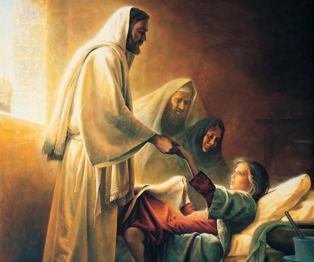 Chrystus umacnia chorych