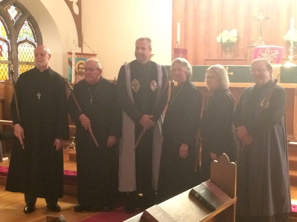 Our new verger: Mike Rhodes