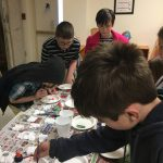 Decorating Ornaments for our tree