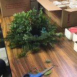 Making Advent Wreath