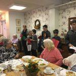 Caroling at The Episcopal Home